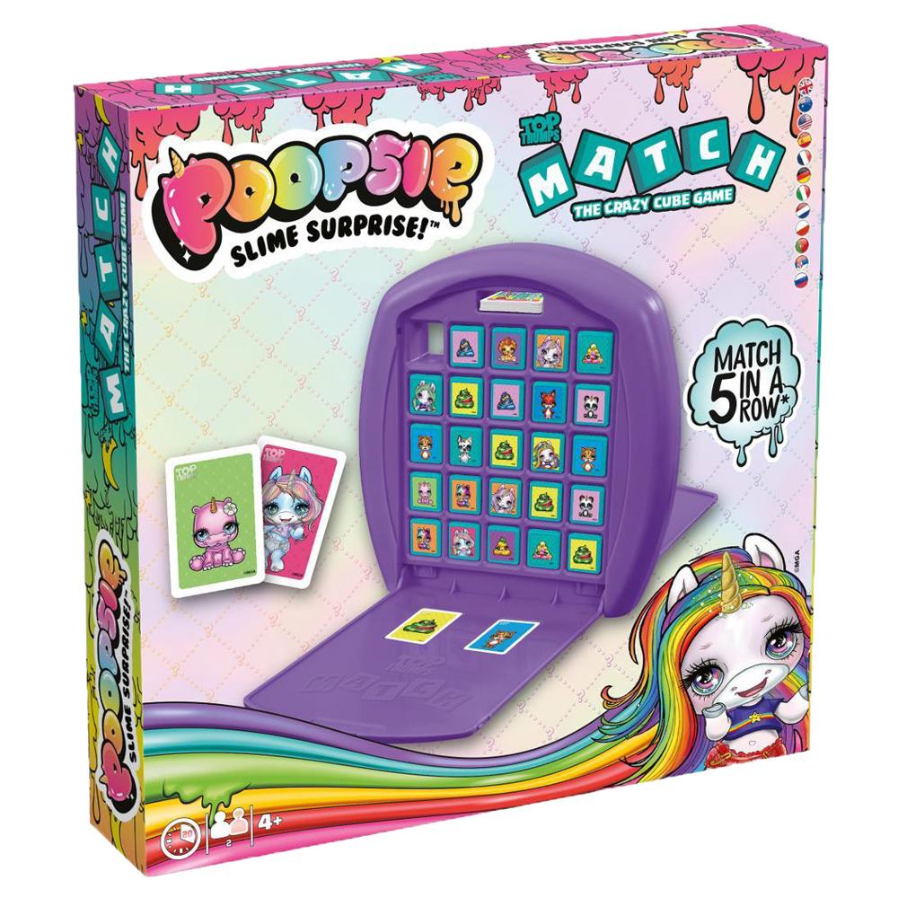 Poopsie Slime Surprise - Unicorn Top Trumps Match Board Game