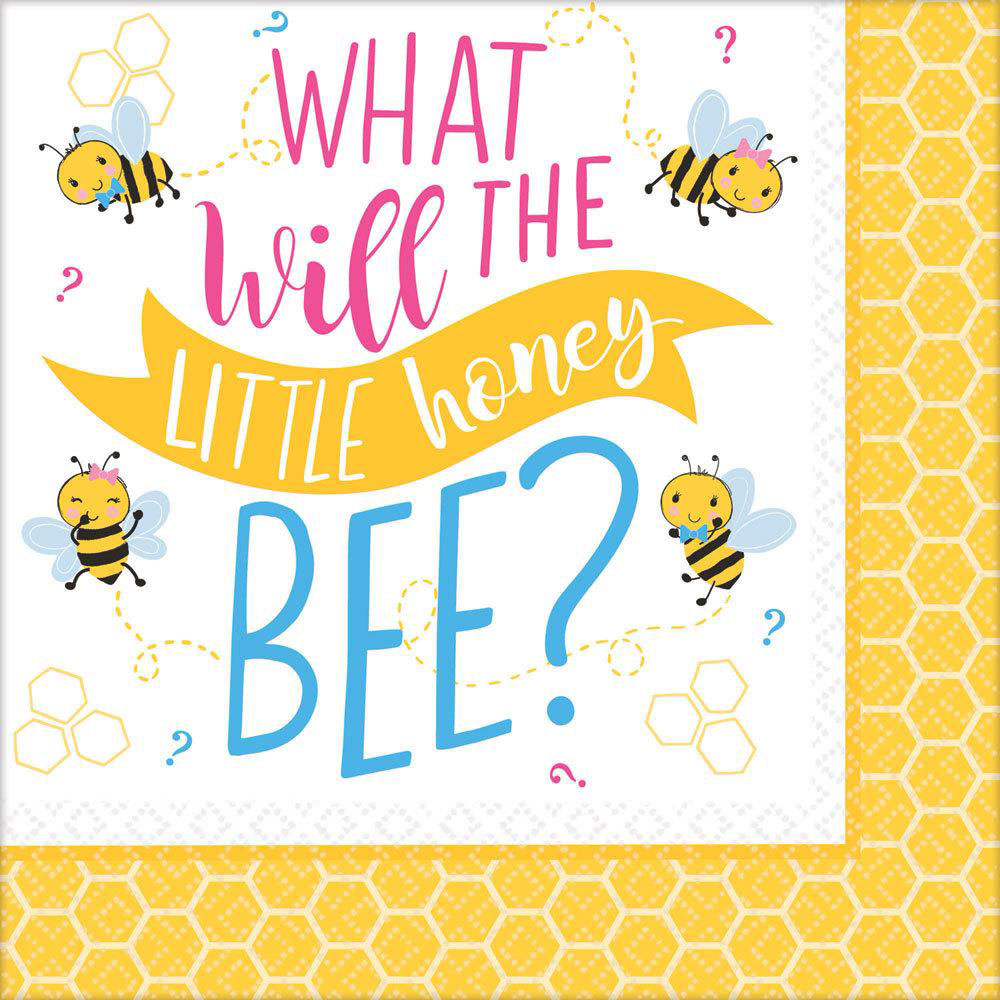 What Will It Bee Baby Shower Napkins
