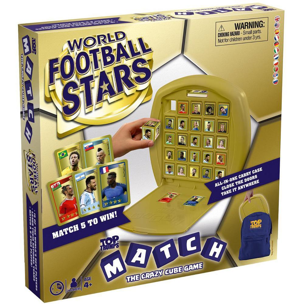 World Football Stars Top Trumps Match Board Game