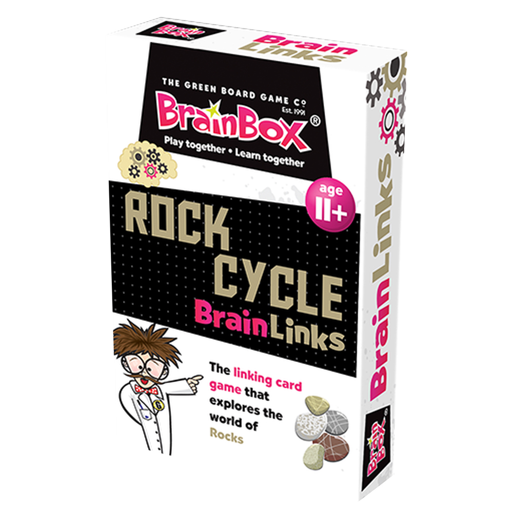 Brain Links Rock Cycle - Linking Card Game