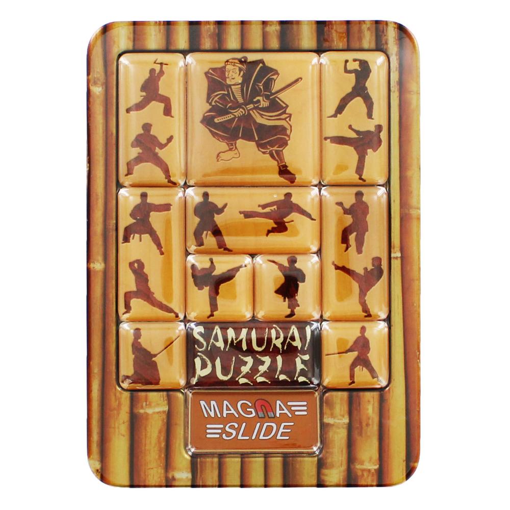 Magna Slide Samurai Puzzle
