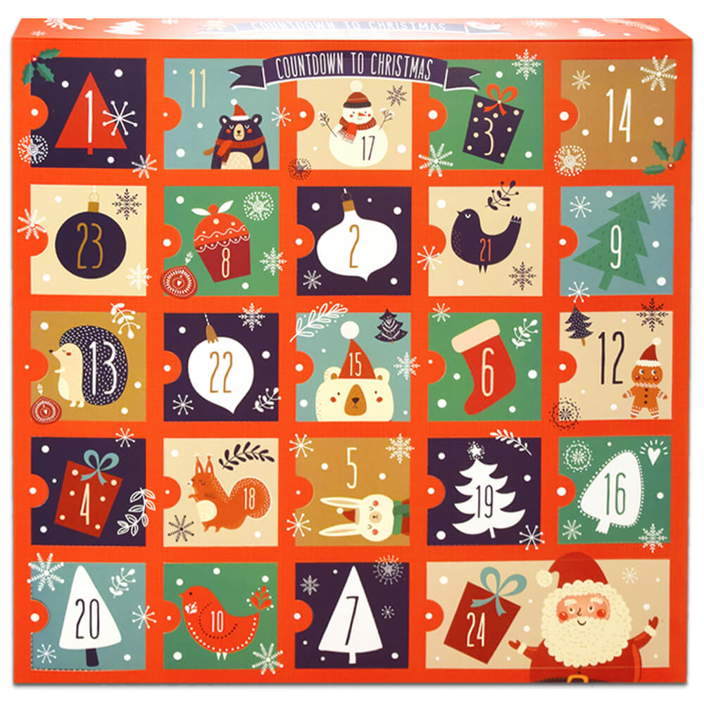 Fill Your Own Advent Calendar - Classic Christmas